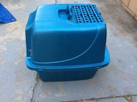 blue and black plastic container Los Angeles, 90047