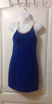 Cute Summer Pearl Neckline Party Dress Toronto, M6G