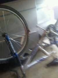 blue and gray hardtail bike Dawsonville, 30534
