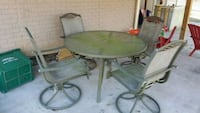Outdoor table and swivel chairs  Sykesville, 21784
