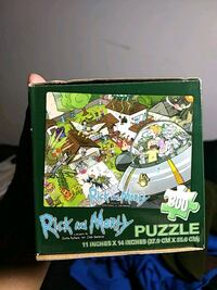 Rick and Morty 300 piece puzzle. Waldorf, 20603