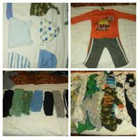 baby's assorted clothes Rocky Mount, 27809