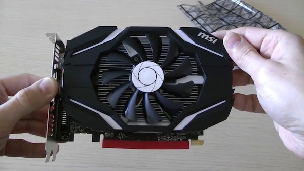 Msi Rx 460 Radeon graphics card AMD