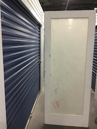 "32/80"" FROSTED GLASS DOOR SLAB"