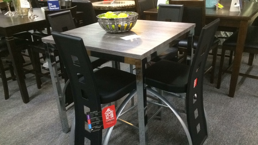 Superior 5pc Counter Height Dining Set