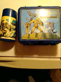 Vintage He-Man lunch box and thermos Hyattsville, 20782
