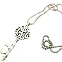 """$8 Brand New KEY Necklace with words """"I love you to the moon and back"""" Austin, 78753"""