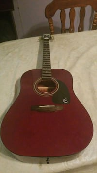 red and black acoustic guitar Lake Wales, 33898