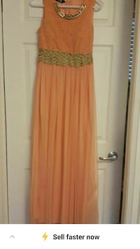 Party dress size small