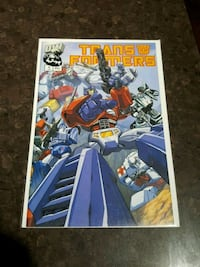 #1 Transformers comic book DW