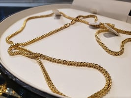 Gold Franco Link Chain Necklace