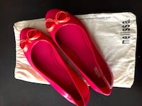 Melissa shoes. Size 8 (used once)
