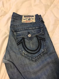 True Religion Jeans men's size 31 Inseam 29/30 Burnaby, V5C 5Y1