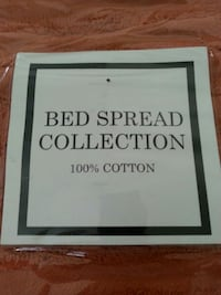 100% COTTON BRAND NEW BED SPREAD FOR TWINS  Vancouver, V6P 4J4