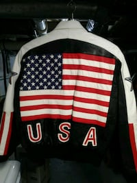 USA leather jacket Elgin, 60123