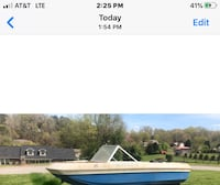 Free Boat 13 ft 6 in long BRING YOUR TRAILER STEERING GOOD