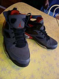Size 11 red&black Air Jordan basketball shoes San Angelo