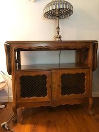 French provincial tea cart