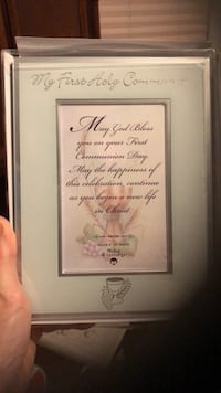 First Communion Picture Frame New, Never Used Newmarket, L3X 2C9