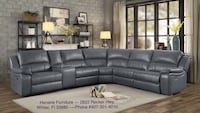 Brand New Sectional With Storage Compartment & Cup Holder/Recliners On Both Ends Winter Haven, 33880