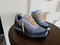 pair of gray-and-black Nike running shoes Annapolis, 21409