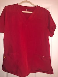 Red Wink Scrub Top Large Westminster, 80003
