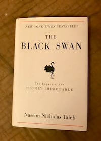The Black Swan:impact of highly improbable by Taleb, Nassim Nicholas (first edition) hardcover book Los Angeles, 91356