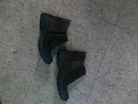 pair of black leather boots Houma, 70363