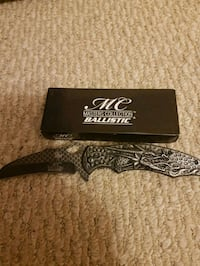 black and gray folding knife Guelph, N1G 3E9