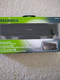 Insignia USB sound bar for note books and laptops Fairfax