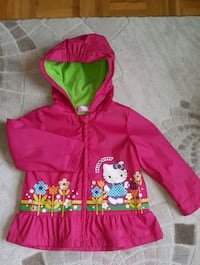 pink and green Hello Kitty zip-up hoodie Vaughan, L4H 2L3