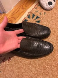 Expensive Snake Skin loafers
