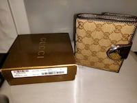 100% authentic GUCCI French flap wallet Burnaby, V5C 0H9
