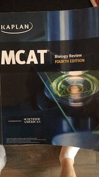 All Kaplan MCAT books, including the lesson book