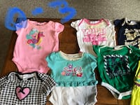 Baby girl 0-3 months clothes Elkhart, 46514