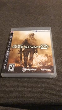 Call of Duty Modern Warfare 2 PS3 game case Roseville, 95678