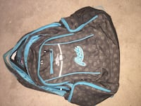 Black and blue Roots  backpack Milton, L9T 6B7