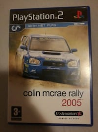 PS3 Colin Mcrae rally 2005 spill tilfelle