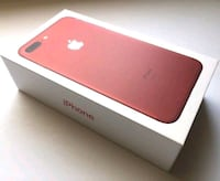 New Apple iPhone 7 Plus-Red-128GB 551 km