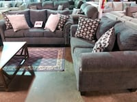 Grey/Charcoal couch and love seat set  Pineville, 28134