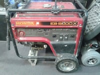 Red/Black Honda EB 5000 X Generator  3750 km