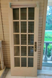 French doors...3 panels...Solid wood..high end  Sarasota, 34242