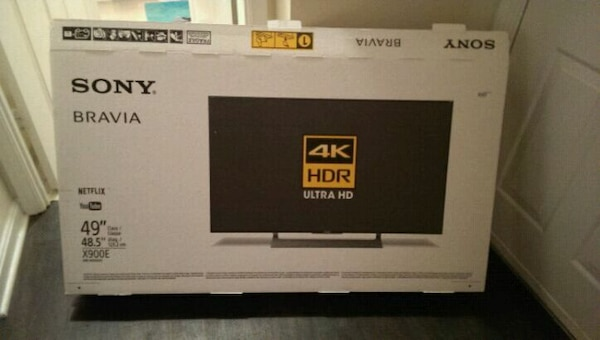 Sony Bravia 4k UHDTV w/HDR gaming feature