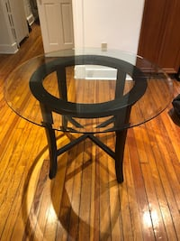 Crate and Barrel Halo Dining Table