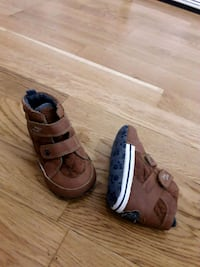 pair of brown leather sandals Greater London, N17 0JN
