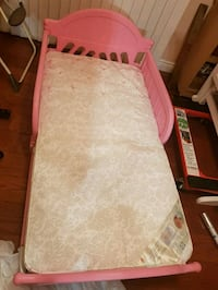 Brand new never used girl bed with mattress Toronto, M1K 4N2