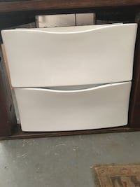 2 base drawers for washer and dryer... brand new! Frederick