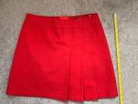 H&M Red mini skirt