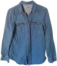 blue denim button-up jacket (swipe down for more pictures) Alexandria, 22311