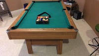 Pool table with all accessories-80'' x 46'' good condition, uhaul Ashburn, 20148